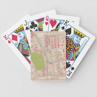Borought of the Bronx map Bicycle Playing Cards