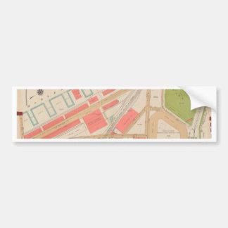 Borought of the Bronx map Bumper Sticker
