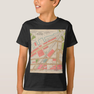 Borought of the Bronx map T-Shirt