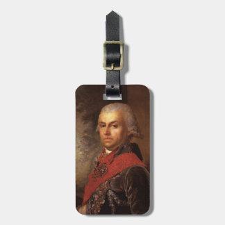 Borovikovsky-Retrato de Vladimir de D.P.Troschinsk Etiquetas De Maletas