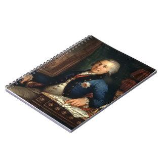 Borovikovsky-Retrato de Vladimir del poeta ruso Libros De Apuntes Con Espiral