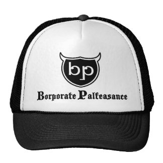 Borporate Palfeasance Mesh Hat
