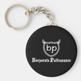 Borporate Palfeasance Llavero Redondo Tipo Pin