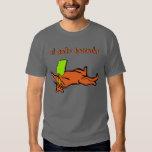 borracho del gato del EL de la camiseta Polera