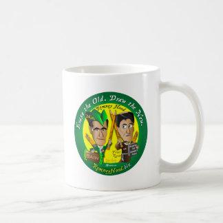 Borre el viejo taza