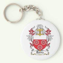 Borre Family Crest Keychain