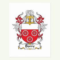 Borre Family Crest Postcard