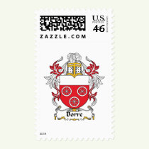 Borre Family Crest Stamps