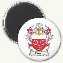 Borre Family Crest Magnet