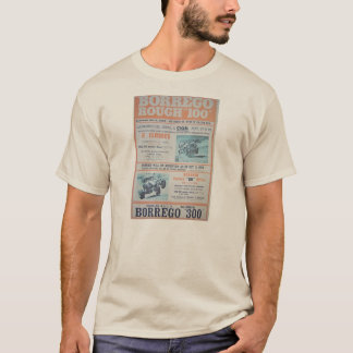 Borrego Rough 100 T-Shirt Poster