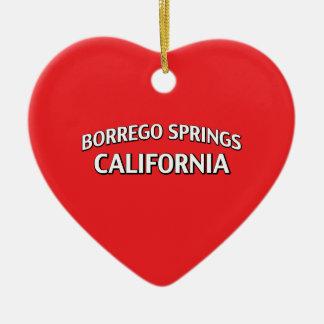 Borrego Springs California Ceramic Ornament