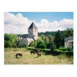 Borreze, France Postcard