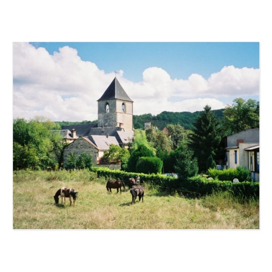 Borreze, France Postcard