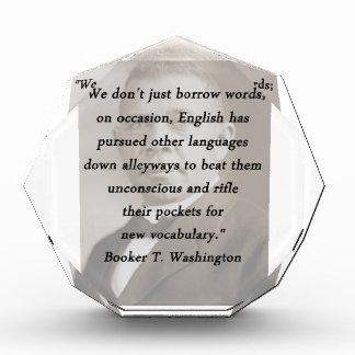 Borrow Words - Booket T Washington Award