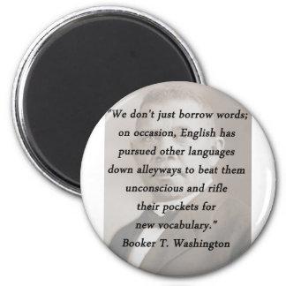 Borrow Words - Booket T Washington Magnet