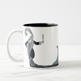 Borrowed Beauty Two-Tone Coffee Mug