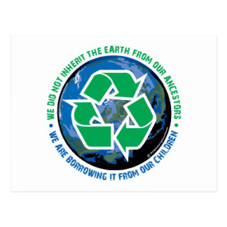Borrowed Earth Postcard