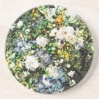 BORROWED FLOWERS.jpg Drink Coaster