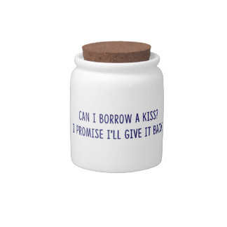Borrowed Kiss shirts, accessories, gifts Candy Dishes