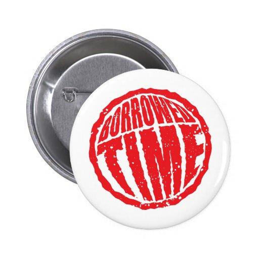 Borrowed Time circle stamp hanko Button