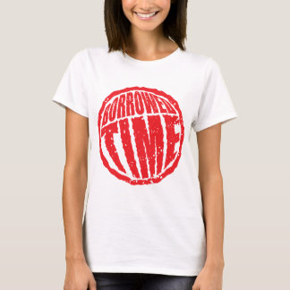 Borrowed Time circle stamp hanko T-Shirt