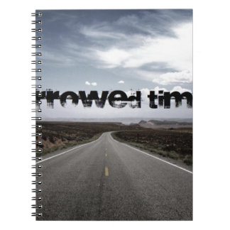 Borrowed Time Swag Spiral Notebooks