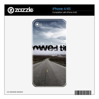 Borrowed Time Swag Skin For The iPhone 4