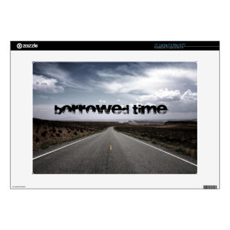 """Borrowed Time Swag 15"""" Laptop Decals"""