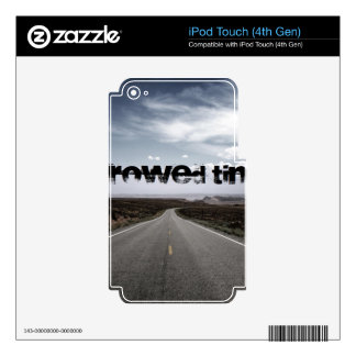 Borrowed Time Swag Decals For iPod Touch 4G