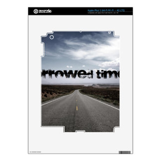 Borrowed Time Swag Decals For iPad 3