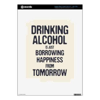 Borrowing Happiness Skin For iPad 3