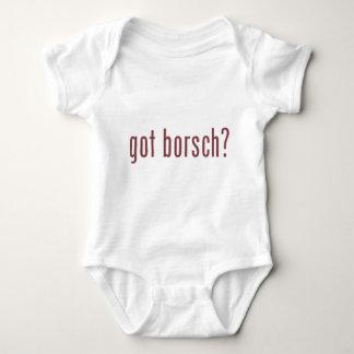 ¿borsch conseguido? body para bebé