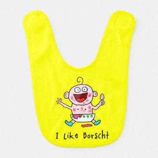 Borscht Baby Baby Bib