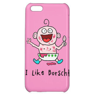 Borscht Baby Case For iPhone 5C