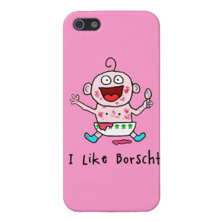 Borscht Baby Cover For iPhone 5