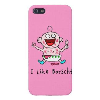 Borscht Baby iPhone SE/5/5s Cover