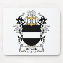 Borssele Family Crest Mousepad