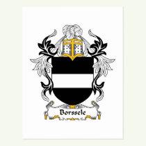 Borssele Family Crest Postcard