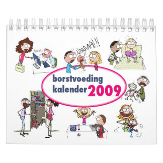 Borstvoeding kalender 2009 calendar