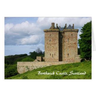Borthwick Castle Card