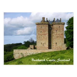 Borthwick Castle Postcard