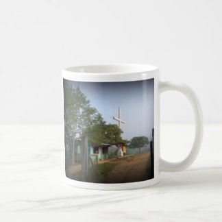 Borucan Village with Cross Coffee Mug