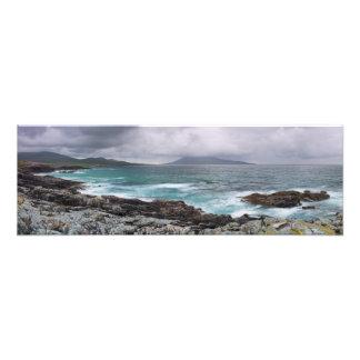 Borve and Taransay Outer Hebrides Photo Print