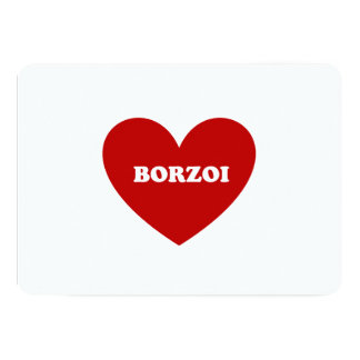Borzoi Card