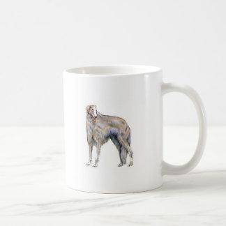 Borzoi Coffee Mug