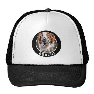 Borzoi Dog 002 Hats