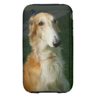 Borzoi dog beautiful photo iphone 3G case mate