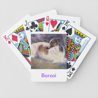 Borzoi Dog Playing Cards