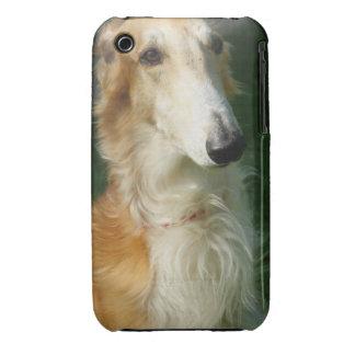 Borzoi dogbeautiful  photo iphone 3G case mate