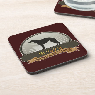 Borzoi Drink Coaster